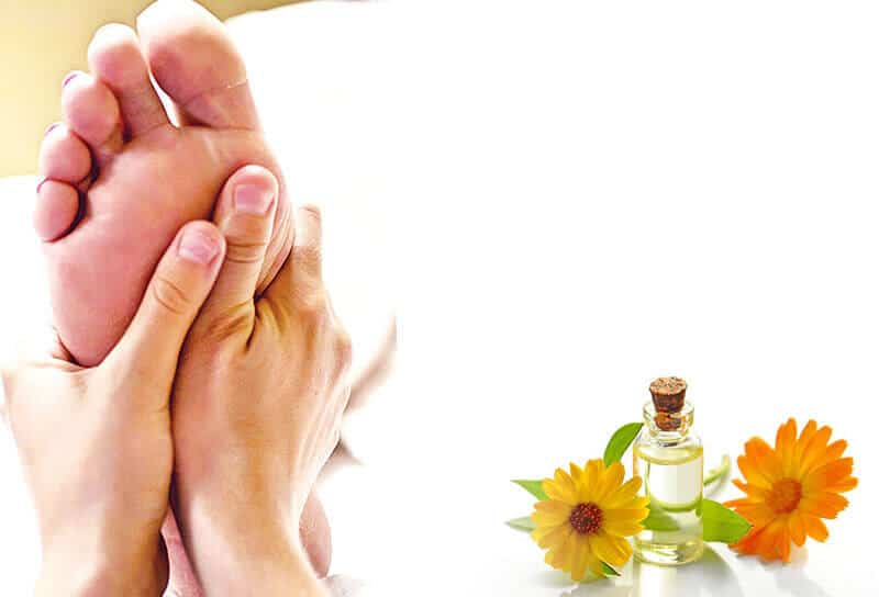 Foot reflexology - massage