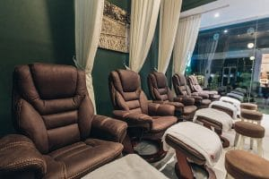 Nail Salon Ubud Dewi Sita Massage Chair