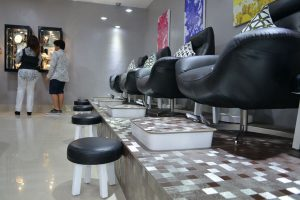 Nail Salon Ubud Pengosekan treatment chair